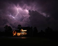 IMG_4885 Mitchel House                     Straight out of the camera. Storm were moving south of Atlanta at sunset. Love it when things come together.