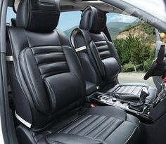 New Arrival Deluxe High Quality Leather Style Fashion Seat Cover