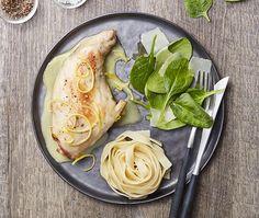 Recette - Cuisses de lapin au citron et parmesan | Notée 4/5