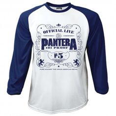 Tricou maneca lunga Pantera: 101 Proof