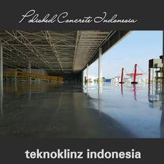 #Polished Concrete Indonesia  #teknoklinz