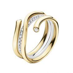 georg Jensen Magic ring in this combo