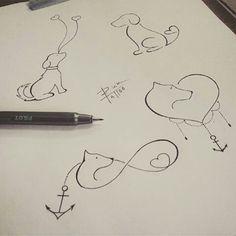 Art done by tattooist/tatuador: @rick_tattooscp. São Paulo Brasil. #art #arte #dog #pets #animals #dibujo #tattoos #tattooed #likethis #tatuaggio #tats #tatuagens #tatuajes #tatouages #ink #inked #inkspiration by tattoscute
