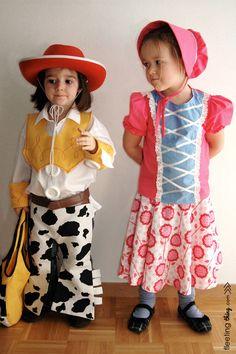 Toy Story Little Bo Peep costume tutorial