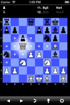 """NEW! tChess supports the new iPad's Retina Display!    NEW! tChess is a """"universal binary"""" and is designed for the iPhone AND iPad, so you don't have to buy two different apps.    NEW! tChess supports turn-based Game Center (new for iOS 5)"""
