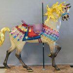 1927 M. C. Illions Supreme Carousel Restored Horses 2013 Pam Hessey paint