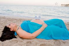 Beach Maternity Picture