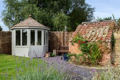 Pretty octagonal Burghley summerhouse, paint finished from our Scotts range