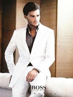 Jamie Dornan - makes a good Christian Grey *** Fifty Shades of Grey ***