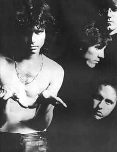 The Doors - I'm attempting to recreate the posters on my wall