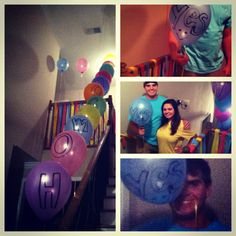 How I asked my boyfriend to homecoming! <3