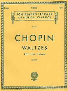 MUSIClassical notes: CHOPIN Waltzes