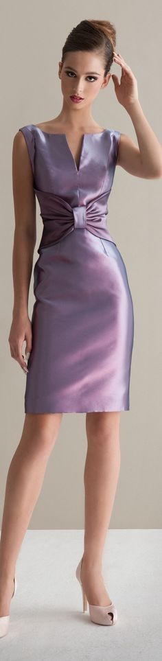 Awesome dress by Antonio Riva -perfect for bridesmaids Purple Cocktails, Color Lila, Purple Outfits, Dress Vestidos, Collor, Purple Fashion, Shades Of Purple, Violet, Special Occasion Dresses