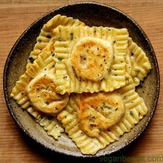 Vegan Ravioli Recipes : pictured, Vegan Sweet Potato, Coconut Milk and Roasted Chili Ravioli