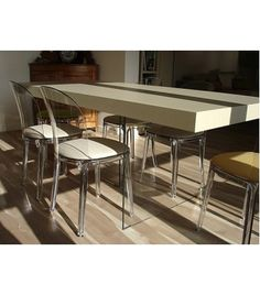 glass table Armani Casa