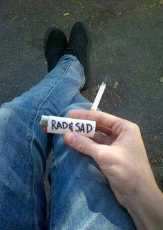 ⇜✧≪∘∙✦Cнʟσεs tumblr✦∙∘≫✧⇝ Rad & Sad