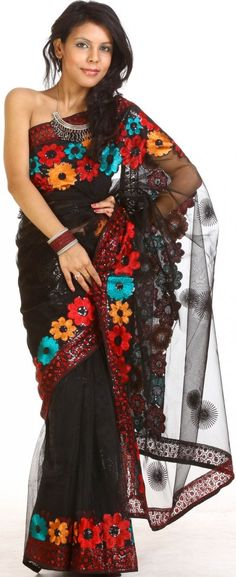 love saris looks Mexican all the beautiful colors
