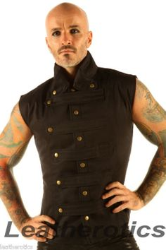 Hey, I found this really awesome Etsy listing at https://www.etsy.com/listing/116243960/new-mens-steampunk-military-waistcoat