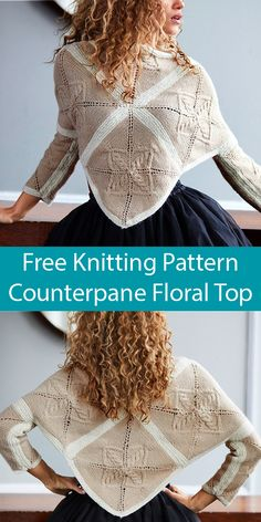 Multi-Direction Top Knitting Patterns- In the Loop Knitting Poncho Knitting Patterns, Arm Knitting, Knitted Poncho, Knit Patterns, How To Start Knitting, How To Purl Knit, Knit Or Crochet, Hand Crochet, Lion Brand