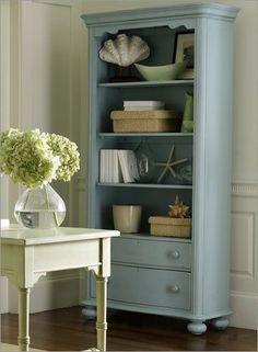 bookcase display.