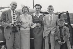 An undated photo of the Sabo family. (Photo courtesy of George Sabo)