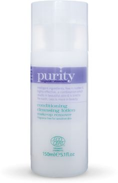 purity conditioning cleansing lotion reccomeneded by Lisa Eldridge. Will try this next time.