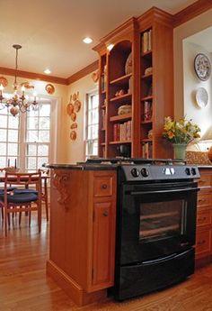 Brown/Nilon Kitchen 4 - traditional - kitchen - dc metro - Cameo Kitchens, Inc.