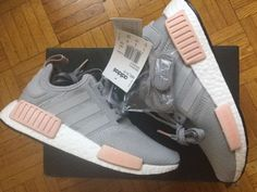ADIDAS-Womens-BY3058-NMD-RUNNER-R1-VAPOUR-GREY-Size-US-7-5-EUR-39