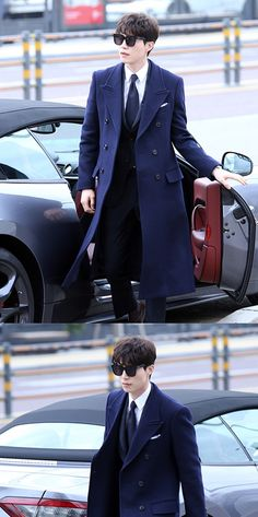 I apologize for the cheesy title but Lee Dong Wook is owning this look. I've always found him attractive but the way the Reaper works a suit in this drama makes me fan myself. These stills ar…