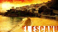 Video of the beach El Escanu in Lastres, Asturias, Spain.