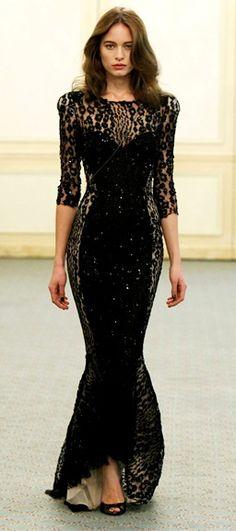 evening dresses, fashion, style, 2010 readytowear, runway