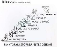 Plakat motywacyjny Languages Online, Foreign Languages, Words Quotes, Motivational Words, Sayings, Learn Polish, Team Motivation, Polish Language, Magic Day