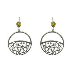 Fashionable Handmade jewelry, silver earrings with Bohemian Topaz 6.35 Inch: ShalinCraft: Amazon.de: Jewelry