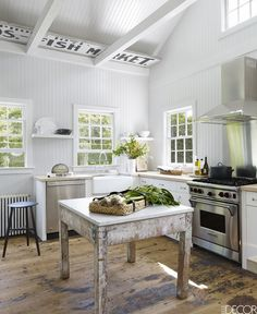 Simplistic Kitchen Organization - ELLEDecor.com