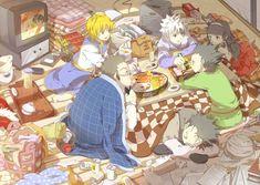 Leorio / Kurapika / Killua / Alluka / Gon / Ging Hunter x Hunter