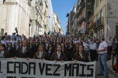 15.Março.2015 As Meninas de Odivelas na defesa da sua casa o Instituto de Odivelas no Desfile da Familia Militar