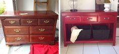 Zseniális ötletek régi bútorok átalakítására