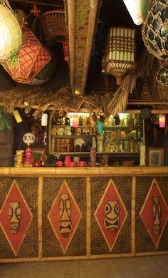 Bosko's own Kapu Tiki Bar.