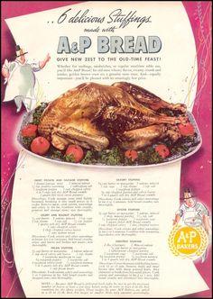 A & P BREAD WOMAN'S DAY 11/01/1940