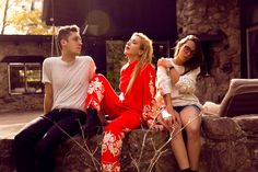 """It's probably safe to say electro-pop trio Austra isn't actually asking for forgiveness with their dark and cinematic visual for """"Forgive Me."""""""