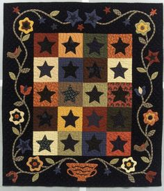 Love this wool applique!