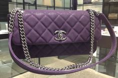 Chanel Lady Pearly matte cavier