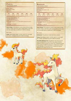 Post with 41488 views. Ponyta Pokemon, Pokemon Rpg, Dungeons And Dragons Homebrew, D&d Dungeons And Dragons, Pokemon Dungeon, Shadow Of Mordor, Dnd 5e Homebrew, Book Of The Dead, Night Elf