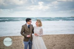 A Christmas elopement to Carbis Bay beach in St Ives, Cornwall Devon And Cornwall, St Ives, Wedding Photography, Couple Photos, Couples, Beach, Christmas, Couple Shots, Xmas