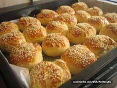 Jednostavne turske pogačice - Recepti na brzinu Albanian Recipes, Bosnian Recipes, Croatian Recipes, Bosnian Food, Bakery Recipes, Kitchen Recipes, Dessert Recipes, Cooking Recipes, Kiflice Recipe