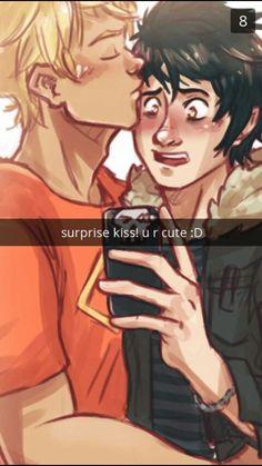 Surprise kiss!!!!