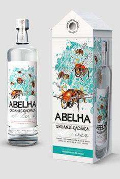 Abelha Organic Cachaça by Design Happy