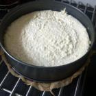 Foto recept: Kokosgebak met witte chocolade