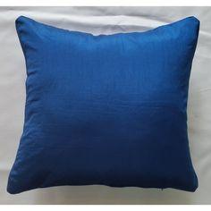 Faux Silk One Colour Design Cushion Cover - Beach Lime (43cm x 43cm) - Mode Alive - Home Decor Heaven