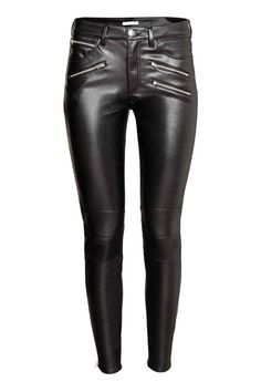 Biker trousers - Black - | H&M GB